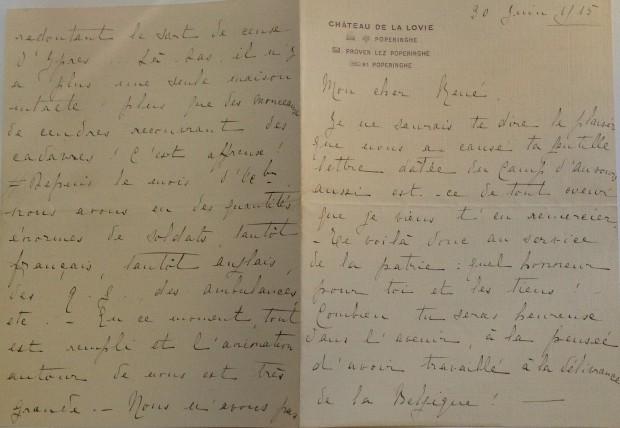 eerste brief Maria