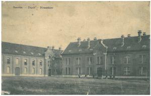 Prentbriefkaart van den Depot, verstuurd in augustus 1914 (collectie Kurt Ivens)