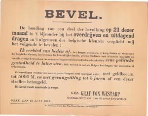 incident 21 juli 1915