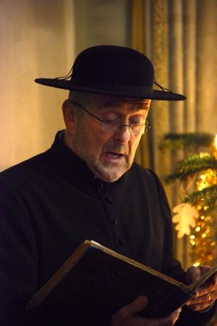 Broeder Gregorius zingt mee uit liedboek