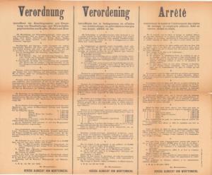 opeisingen 23 juli 1916